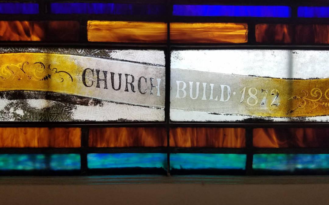 BIH Stained Glass Window