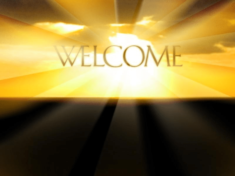 Prepare the Way: Welcome
