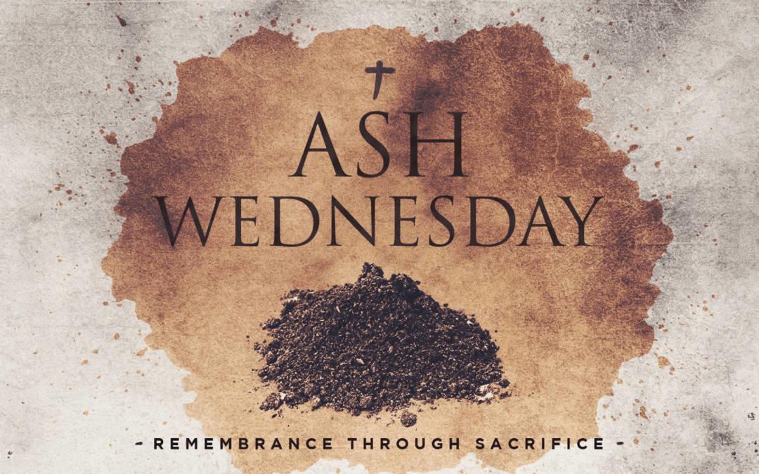 Ash Wednesday – Drive-Through Service