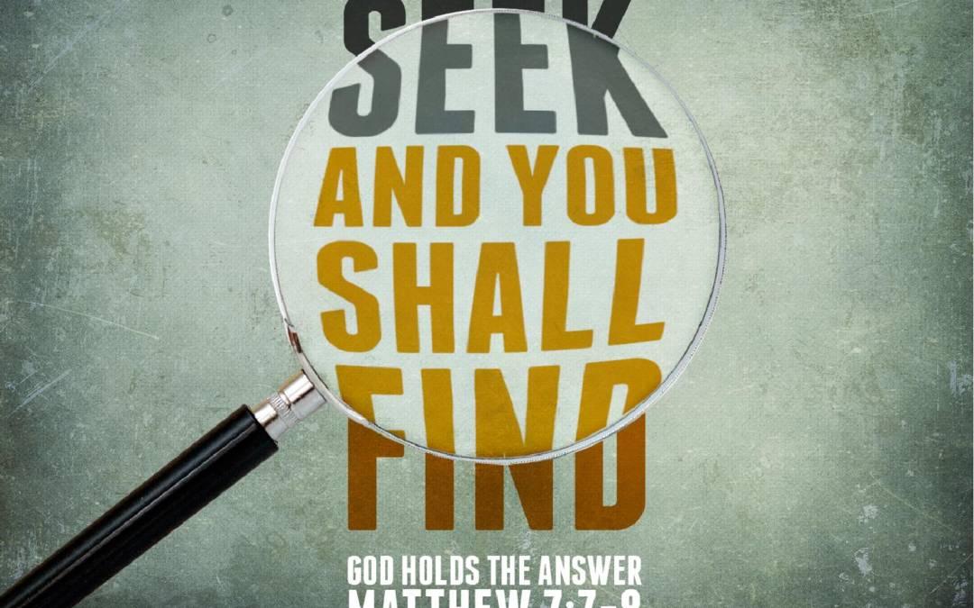 Prepare the Way: Find